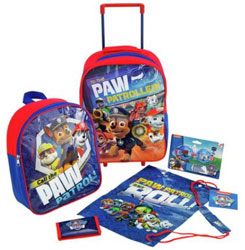 PAW Patrol 5 Piece Luggage Set